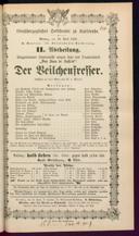 <<Anstatt aufgeführt: Der>> Veilchenfresser [Moser, Gustav von]