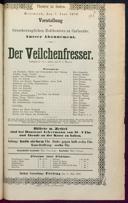 7.6.1876 <<Der>> Veilchenfresser [Moser, Gustav von]