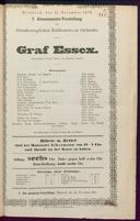15.11.1876 Graf Essex [Laube, Heinrich]