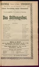 12.9.1877 <<Das>> Stiftungsfest [Moser, Gustav von]