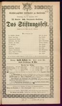 13.9.1877 <<Das>> Stiftungsfest [Moser, Gustav von]
