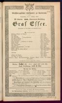 4.10.1877 Graf Essex [Laube, Heinrich]