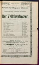 15.10.1877 <<Der>> Veilchenfresser [Moser, Gustav von]