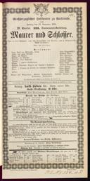 23.11.1883 <<Le>> maçon [Auber, Daniel-François-Esprit]