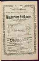 2.1.1884 <<Le>> maçon [Auber, Daniel-François-Esprit]