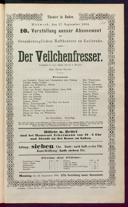 17.9.1884 <<Der>> Veilchenfresser [Moser, Gustav von]