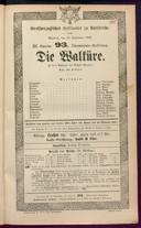 23.9.1885 <<Die>> Walküre [Wagner, Richard]