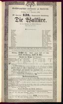9.11.1886 <<Die>> Walküre [Wagner, Richard]