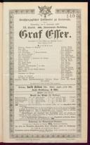 8.9.1887 Graf Essex [Laube, Heinrich]