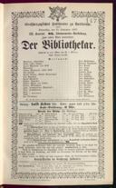 15.9.1887 <<Der>> Bibliothekar [Moser, Gustav von]