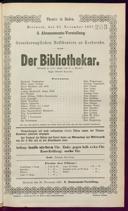 23.11.1887 <<Der>> Bibliothekar [Moser, Gustav von]