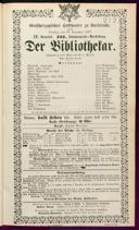 29.11.1887 <<Der>> Bibliothekar [Moser, Gustav von]