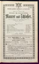 7.9.1888 <<Le>> maçon [Auber, Daniel-François-Esprit]