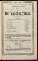 21.11.1888 <<Der>> Veilchenfresser [Moser, Gustav von]