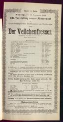 30.9.1889 <<Der>> Veilchenfresser [Moser, Gustav von]