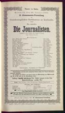 28.1.1891 <<Die>> Journalisten [Freytag, Gustav]