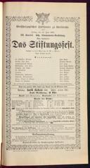12.6.1891 <<Das>> Stiftungsfest [Moser, Gustav von]