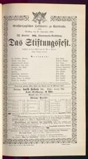 15.9.1891 <<Das>> Stiftungsfest [Moser, Gustav von]