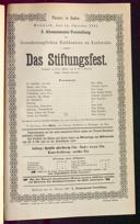14.10.1891 <<Das>> Stiftungsfest [Moser, Gustav von]