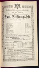 27.11.1891 <<Das>> Stiftungsfest [Moser, Gustav von]