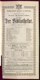 27.5.1892 <<Der>> Bibliothekar [Moser, Gustav von]