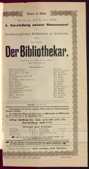 8.6.1892 <<Der>> Bibliothekar [Moser, Gustav von]