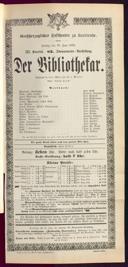 10.6.1892 <<Der>> Bibliothekar [Moser, Gustav von]