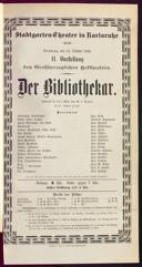 23.10.1892 <<Der>> Bibliothekar [Moser, Gustav von]