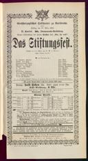 10.3.1893 <<Das>> Stiftungsfest [Moser, Gustav von]