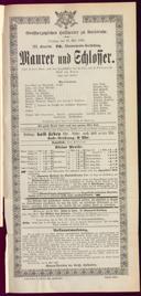 19.5.1896 <<Le>> maçon [Auber, Daniel-François-Esprit]