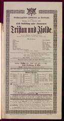 5.9.1897 Tristan und Isolde [Wagner, Richard]