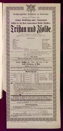 9.10.1898 Tristan und Isolde [Wagner, Richard]