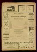16.6.1926 <<Les>> contes d'Hoffmann [Offenbach, Jacques]