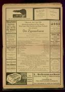 7.7.1926 <<Der>> Zigeunerbaron [Strauss, Johann]