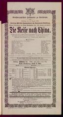 29.8.1899 <<Le>> voyage en Chine [Bazin, François]