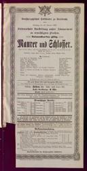 24.2.1900 <<Le>> maçon [Auber, Daniel-François-Esprit]
