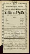 7.5.1901 Tristan und Isolde [Wagner, Richard]