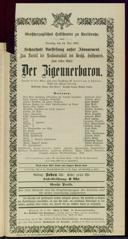 14.5.1901 <<Der>> Zigeunerbaron [Strauss, Johann]