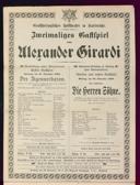 27.11.1909 <<Der>> Zigeunerbaron [Strauss, Johann]