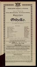 8.11.1901 Othello [Shakespeare, William]