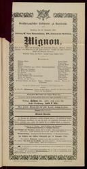 16.11.1901 Mignon [Thomas, Ambroise]