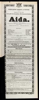 18.5.1902 Aida [Verdi, Giuseppe]