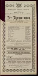 1.6.1902 <<Der>> Zigeunerbaron [Strauss, Johann]