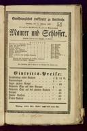 10.2.1839 <<Le>> maçon [Auber, Daniel-François-Esprit]
