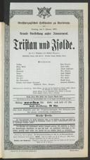 8.2.1903 Tristan und Isolde [Wagner, Richard]