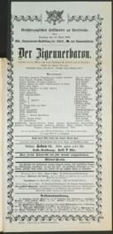 14.4.1903 <<Der>> Zigeunerbaron [Strauss, Johann]