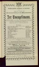 6.11.1903 <<Der>> Evangelimann [Kienzl, Wilhelm]