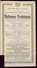 20.11.1903 <<Les>> contes d'Hoffmann [Offenbach, Jacques]