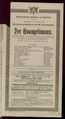 17.12.1903 <<Der>> Evangelimann [Kienzl, Wilhelm]