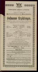 26.12.1903 <<Les>> contes d'Hoffmann [Offenbach, Jacques]